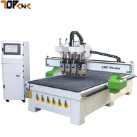 Tip-top 1325 4 axis woodworking cnc machinery for chair furniture ATC cnc router