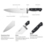 japanese knife carbon steel 8 inch kitchen chef knives 420J2
