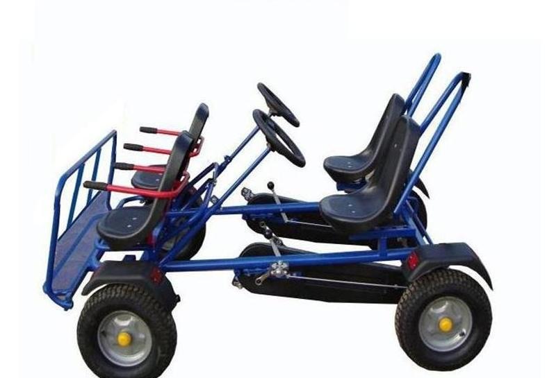 voiture p dales 4 personne p dale go kart avec quadricycle karting id de produit 60148588347. Black Bedroom Furniture Sets. Home Design Ideas