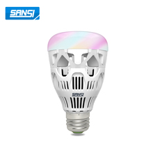 2018 smart lighting manufacturers in china wireless dmx led light bulb led intelligent emergency light led bulb