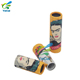 Factory priced cartoon style paper tube biodegradable lip balm container tube for cosmetic packing