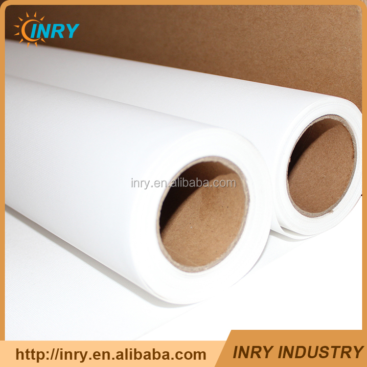 380GSM waterproof Poly Cotton Printing Inkjet Canvas Fabric Roll