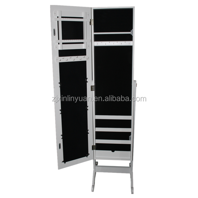 High Quality Jewelry Storage Cabinet With Mirror
