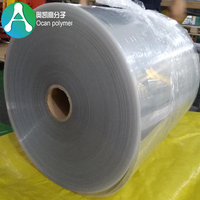 1mm Rigid Plastic Clear PVC Sheet Rolls With Recycled Material for Cement Tray