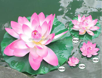 Factory Supply Artificial Lotus Flower For Pool Decorative