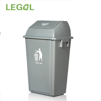 60liter Outdoor And Indoor Waste Plastic Dustbin With Lids