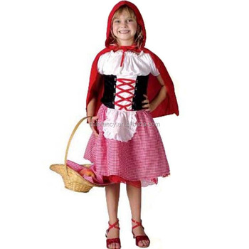 102282bcb Little Red Riding Hood Girls Costume Plus Size Costumes Kids Belly ...
