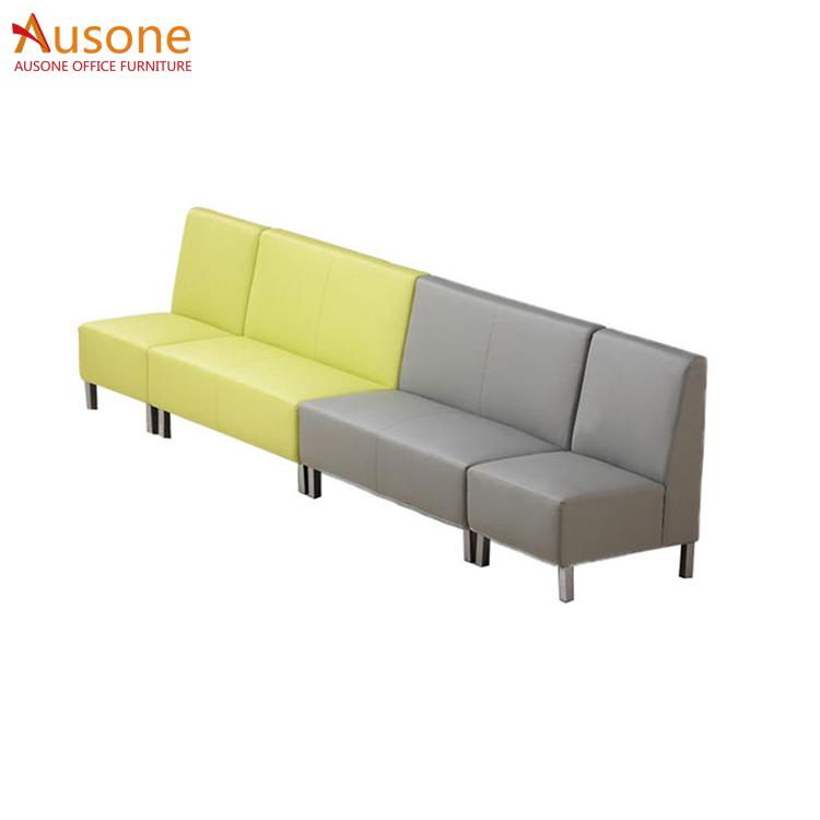 Leather Waiting Room Office Lounge Leisure Sofa Used Product On Alibaba