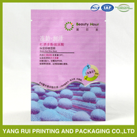 Big factory manufacture wholesale female foil facial mask packaging bag