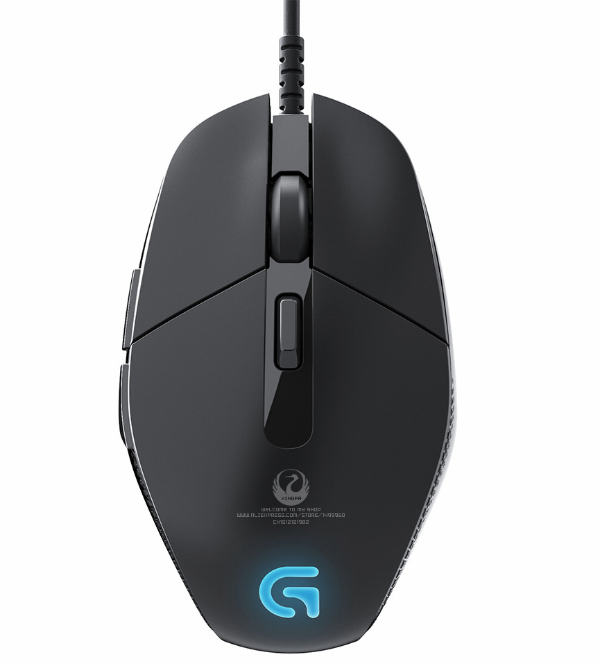 Genuine Original Guaranteed Logitech G302 3D Mini Finger USB Optical Wired Mouse With 3000 DPI For Desktop Laptop Free Shipping
