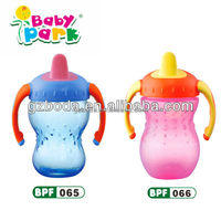 Custom baby training cup plastic cups drinking cups