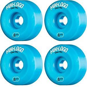 Mini Logo A-Cut Blue Skateboard Wheels - 54mm 101a (Set of 4)