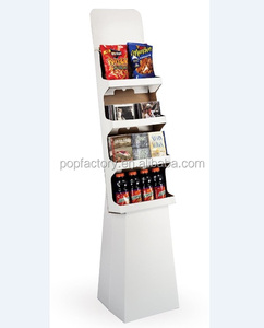 Cheap and high quality POS Paper display stand book shelves
