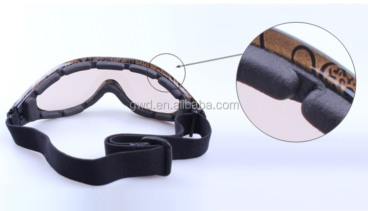 mix color TPU frame anti fog anti scratch motocross racing google