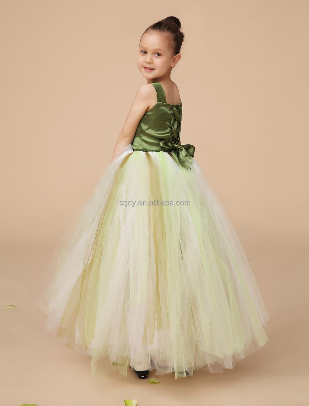 New Lace Tulle Tutu Flower Girl Dress Wedding Easter Junior