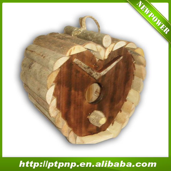 Natural handmade outdoor decorative bird house for garden / Pet Cages, Carriers & Houses