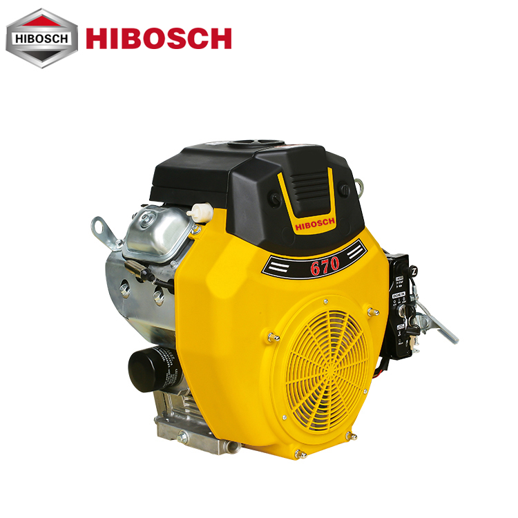Made in China small gasoline engine 20hp with gearbox