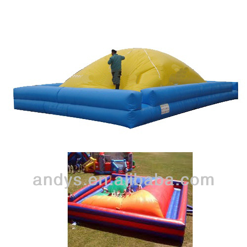 King of the Hill sports inflatable game