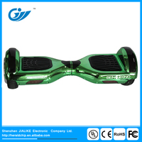 2017 New chrome plated safe 2 wheel self-balancing electronic scooter hoverboard