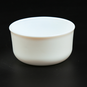 High Quality Milk White Opal Heat Resistant Glass Bowl For Microwave Oven