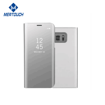 designer fashion 7b353 f9a4a Amazon Custom Touch Sensitive Clear Flip Electroplating Mirror Phone Case  For Samsung J5 Prime - Buy Electroplating Mirror Phone Case,Electroplating  ...