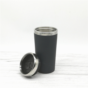 100% Natural stainless steel thermo travel mug vacuum coffee cup double wall bamboo fiber tea tumbler prices