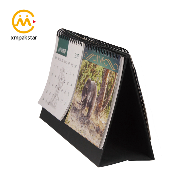 Factory bulk buy 2020 Promotional Wire Binding Tear Off Desktop Calendar Printing