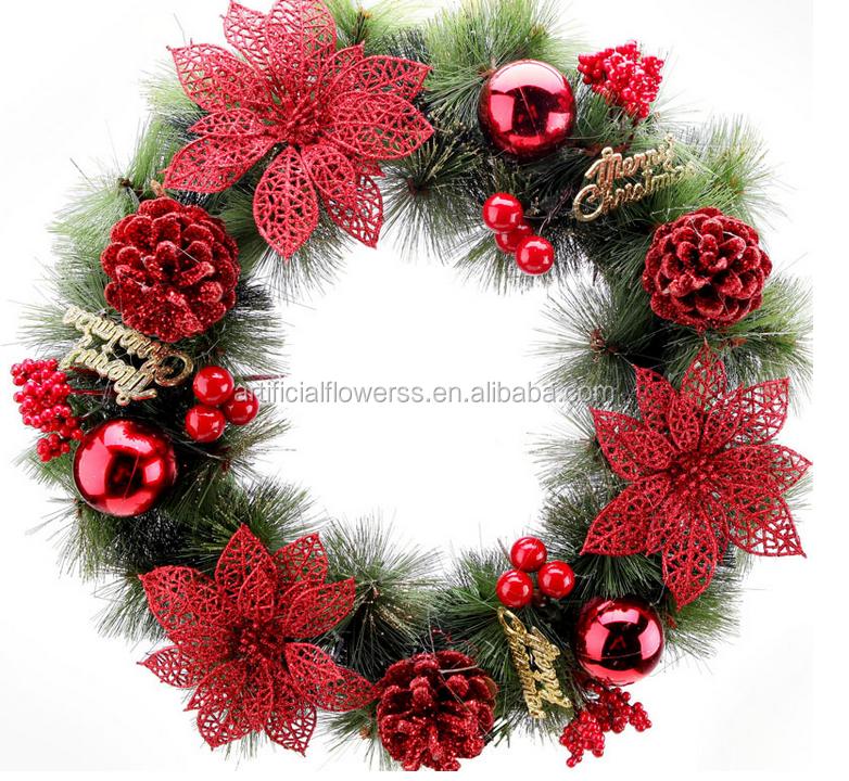 Christmas Decoration Glitter Wooden Christmas Twig Christmas ...