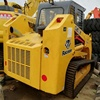 hot sale Used Mini Skid Steer Loader Bobcat ht-100l Cheap chain wheel Skid Steer Loader for sale in good condition