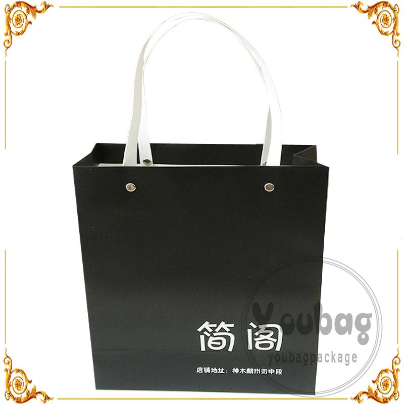 Eco-friendly recycled printing machine foldable tote bag paper mini gift boxes