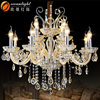 Candle Light Classic Candle Light Glass Chandelier OMC027