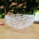 Wholesale crystal glass fruit salad bowls