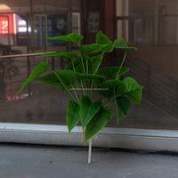 artificial calla lily flower leaves for flower arrangement
