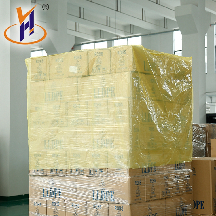 Hot Sale ldpe vci bag transparent dustproof and anti-static plastic Custom white square bottom bags