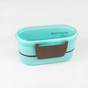 2 layer adult lunch box koreanbento box easy storage
