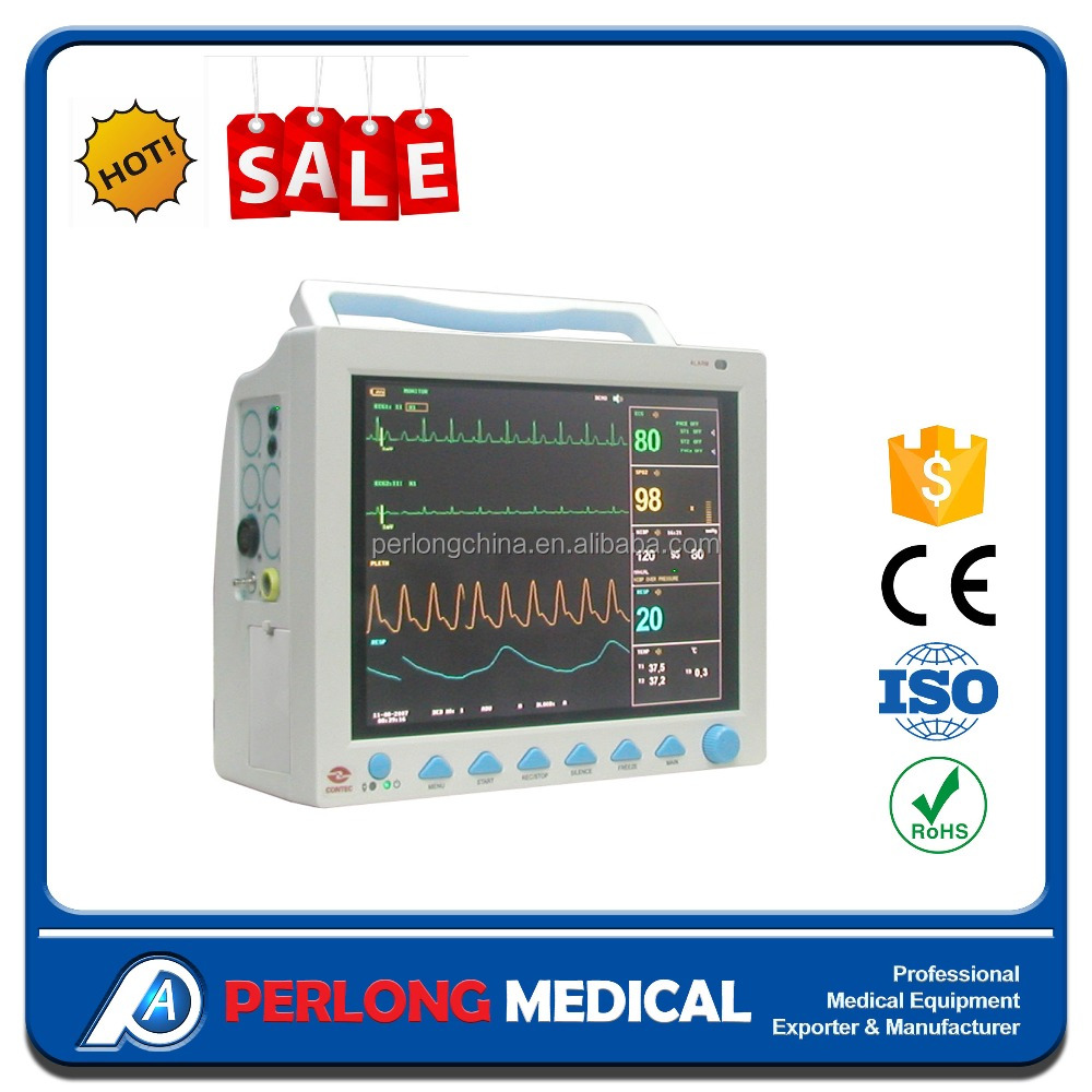 PDJ-3000B Color heart monitor Patient Monitor multi parameter