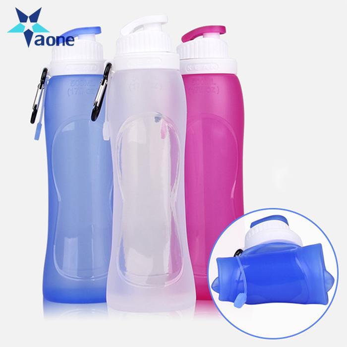 Collapsible 2.8 L Water Bottle 2.8 L Folding Water Bottle Clear Bottle