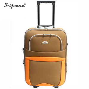 Fashion Easy Design simple style cheap good quality chinese factory supplier suitcase