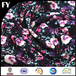 Custom digital printed viscose rayon staple fiber
