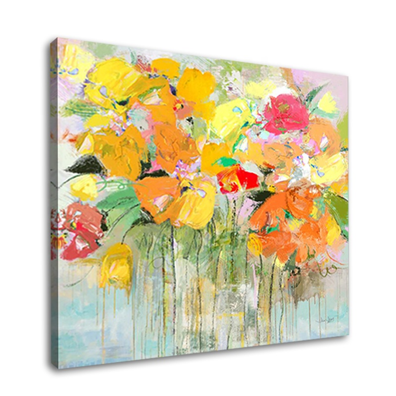 Digital Canvas Prints Abstract Flowers Oil Painting Top Quality On Sale