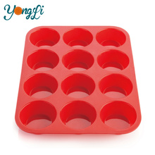 Muffin Pans and Cupcake Make Non Stick Silicone Cup Cake Mould