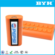 2017 New innovative product custom led logo disposable phone charger power bank with suction function