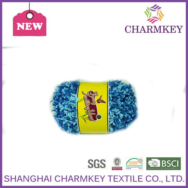 Eco-friendly polyester chenille yarn 100% polyester China factory wholesale & offer free sample