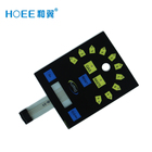 High quality Chemical resistant Custom transparent window LCD display PCB Led panel membrane keypad