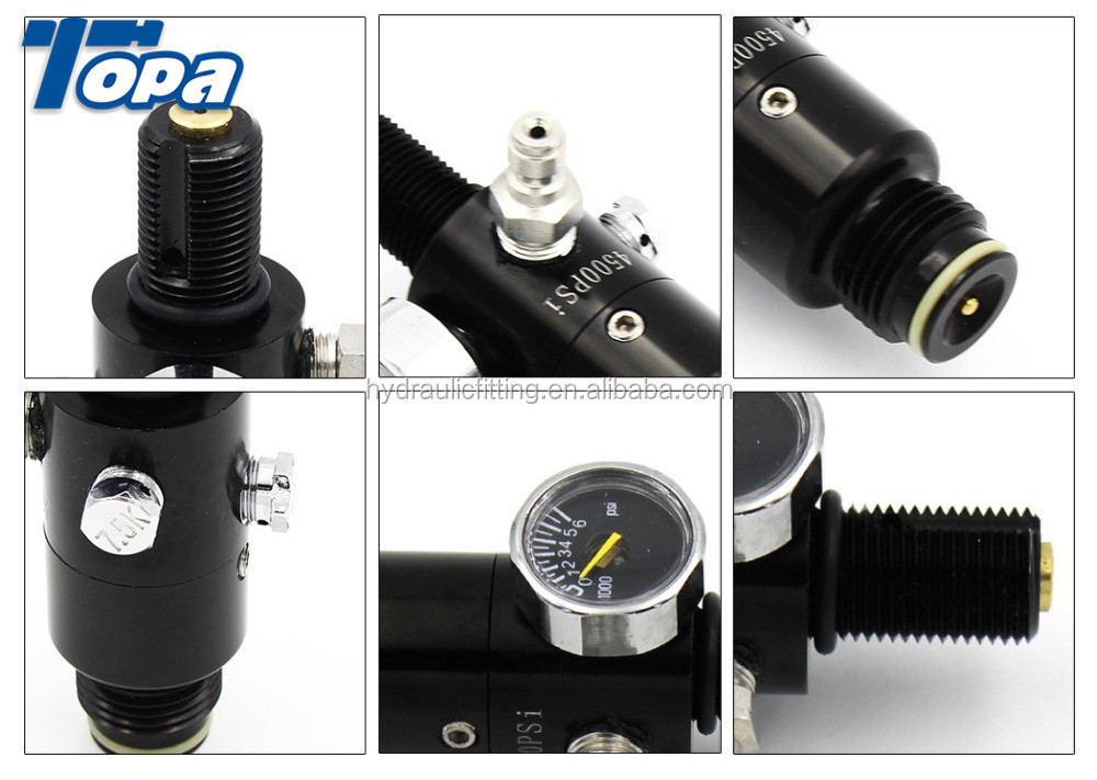 Paintball Valve Air Pressure Regulator Ninja Co2 Mini Gas Regulator - Buy  Pressure Regulato,Air Pressure Regulato,Ninja Co2 Mini Gas Regulator  Product