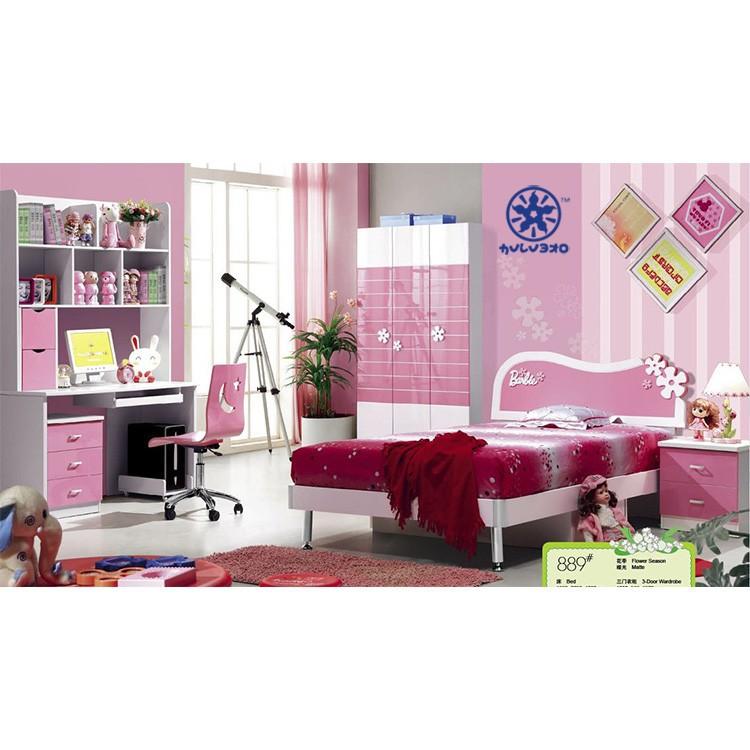 Cheap Pink Children Bedroom Furniture Sets Wholesale For  Girls|bed,Wardrobe,Desk,Chair,Nightstand - Buy Children Furniture,Cheap  Furniture,Bedroom ...