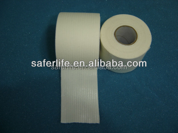 FDA approved Strapping support tape zinc oxide tape water resistant sport tape