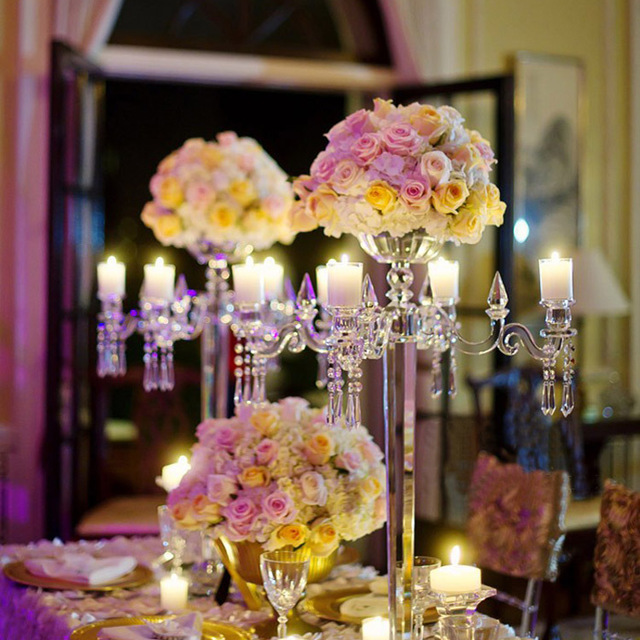Buy cheap china wedding decoration centerpieces products find china wholesale 5 arms flower bowl candelabra crystal wedding decoration centerpieces junglespirit Gallery