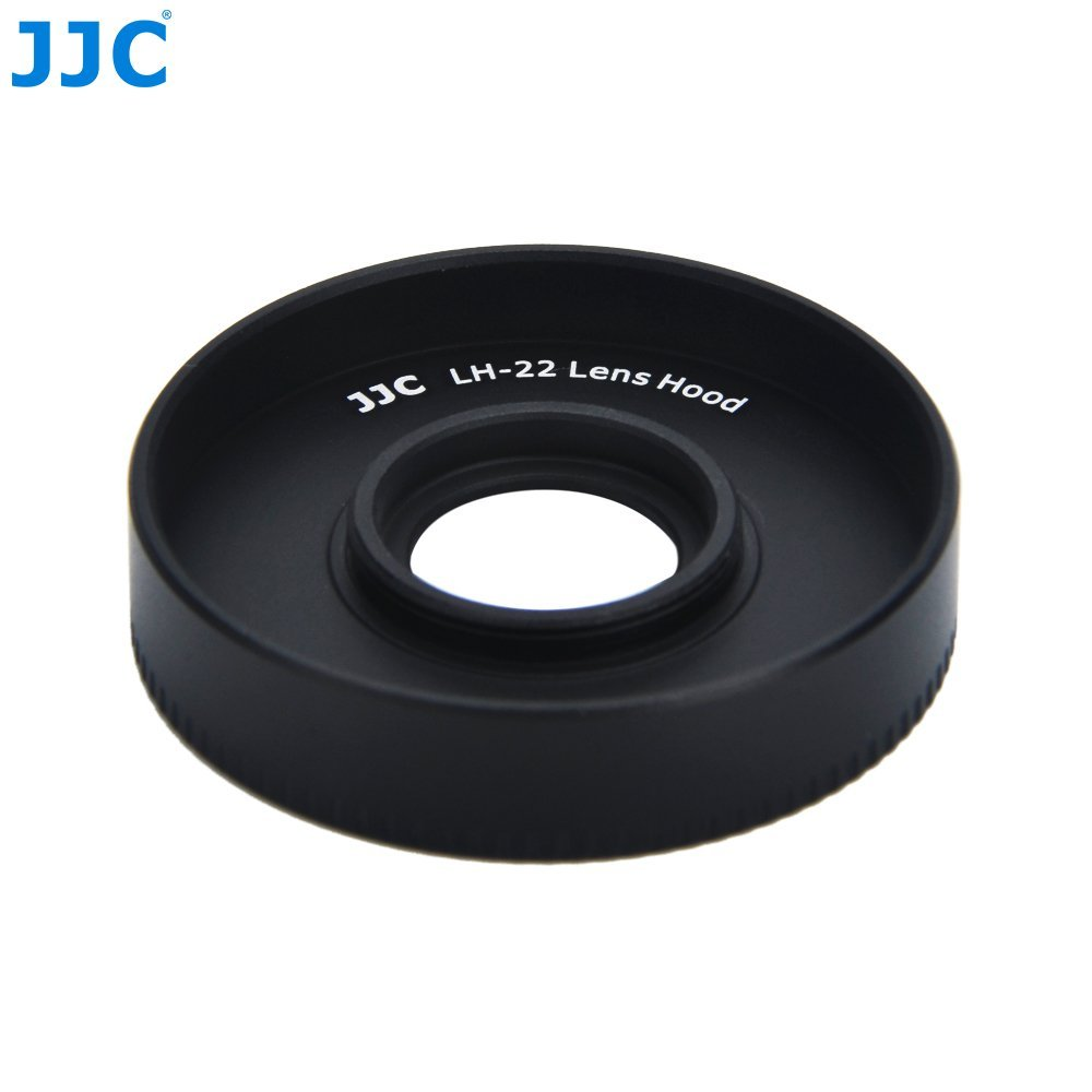 JJC LH-43 Professional Hard Lens Hood for Canon 22mm 2.0 STM lens replaces Canon EW-43
