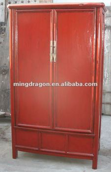 Chinese Antique Two Door Cabinet And Wardrobe - Buy Antique Style ...